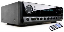 HiFi-Verstärker Receiver Karaoke Musik 160 Watt Fernbedienung Bluetooth MP3 USB SD LTC ATM 6500 BT
