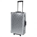 ROADINGER CD-Case poliert 120 CDs mit Trolley 30122088