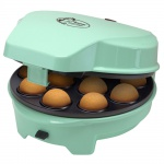 3 in 1 Cake Pop Maker Mini Donuts Muffin Back Automat mint grün Antihaft beschichtet Bestron ASW238