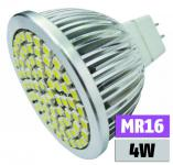 4W GU5, 3 LED-Leuchtmittel MR16 385 lm 3000K warmweiß McShine 1450036
