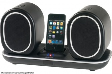 Kabelloses Iphone-Dock Musik Center LED-Anzeige Lautsprecher System AEG MC 4447