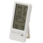 Kabellose Wetterstation LCD-Display Celsius Fahrenheit Thermometer kabellos DENVER TRC-1480