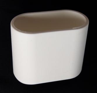 Fusskappe 40x20 mm Ersatzkappe für Gartenmöbel