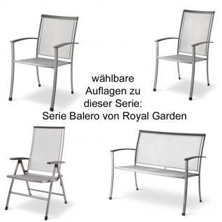 Auflage für Möbel aus der Serie Balero im Dessin 190 100% Polyacryl - Vorschau 2