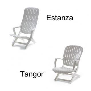 Auflage für Sessel Estanza und Tangor von Allibert Evolutiv im Des. 3032 100% Polyacryl, Lichtbeständigkeit 7-8 von 8 - Vorschau 2