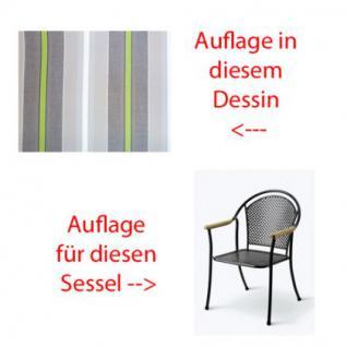Auflage für Sessel Venezia Des. 2000 100% Polyacryl Lichtbeständigkeit 7-8 von 8 - Vorschau 1