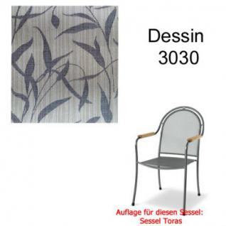 Auflage zu Sessel Toras Des. 3030 100% Polyacryl