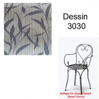 Auflage für Serie Vienna im Dessin 3030 100% Polyacryl