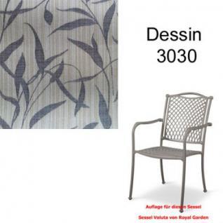Auflage zu Sessel Voluta Dessin 3030 100% Polyacryl