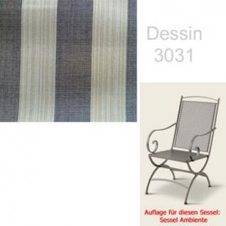 Auflage zu Sessel Ambiente Dessin 3031 100% Polyacryl - Vorschau 1