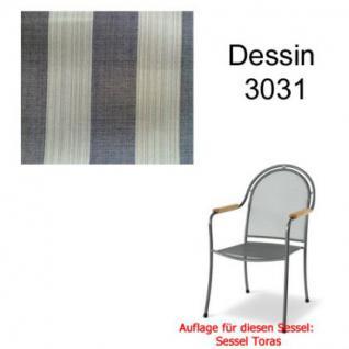 Auflage zu Sessel Toras Des. 3031 100% Polyacryl