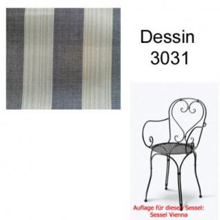 Auflage für Serie Vienna im Dessin 3031 100% Polyacryl