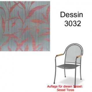 Auflage zu Sessel Toras Des. 3032 100% Polyacryl
