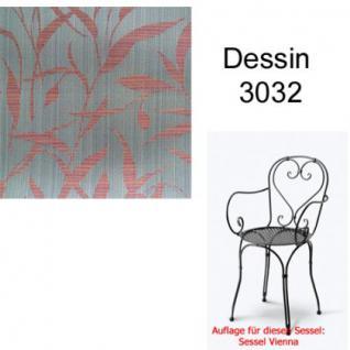 Auflage für Serie Vienna im Dessin 3032 100% Polyacryl