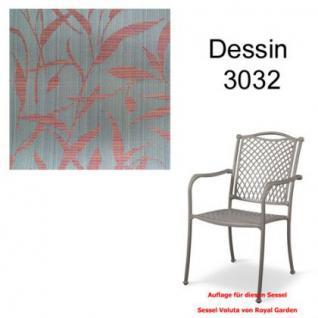Auflage zu Sessel Voluta Dessin 3032 100% Polyacryl