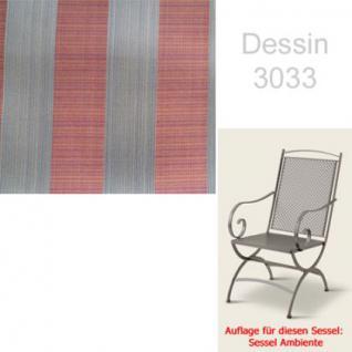 Auflage zu Sessel Ambiente Dessin 3033 100% Polyacryl