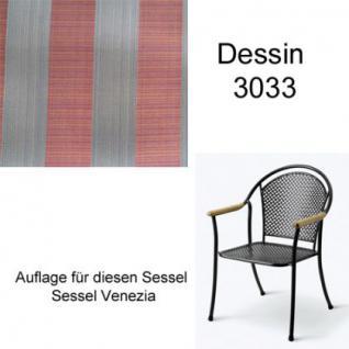 Auflage für Sessel Venezia Des.3033 100% Polyacryl