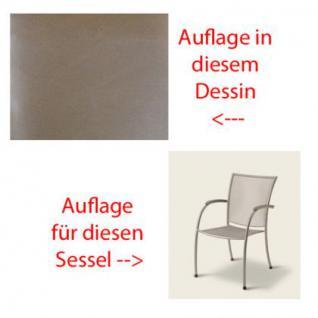 Auflage für Sessel Pilo von Royal Garden MWH im Des. 314 100% Polyacryl, Lichtbeständigkeit 7-8 von 8 - Vorschau