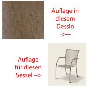 Auflage für Sessel Pilo von Royal Garden MWH im Des. 315 100% Polyacryl, Lichtbeständigkeit 7-8 von 8