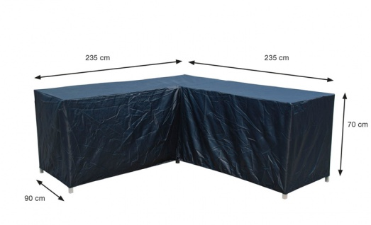 Schutzhülle Loungemöbel 235/235x90x70 cm 100% Polyester