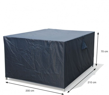 Schutzhülle Loungemöbel 210x200x70 cm 100% Polyester