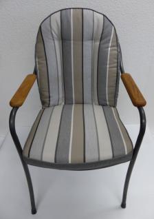 Auflage zu Sessel Comfort Dessin 310 100% Polyacryl