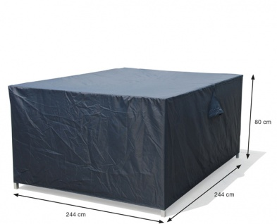 Schutzhülle Loungemöbel 244x244x80 cm 100% Polyester