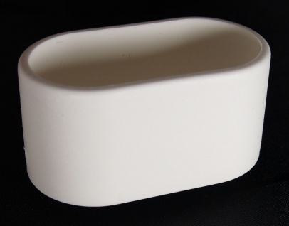 Fusskappe 38x20mm oval Ersatzkappe für Gartenmöbel