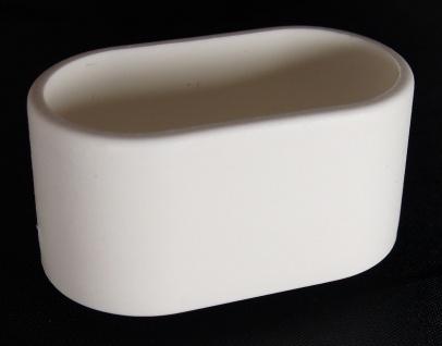 Fusskappe 38x20mm oval Ersatzkappe für Gartenmöbel - Vorschau 1