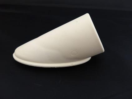Tischfusskappe MWH 38x25 o. 47x31mm weiss oder schwarz - Vorschau 1