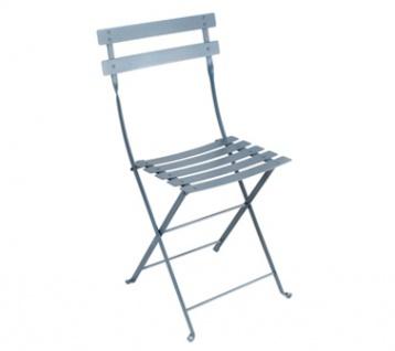 Fermob Stuhl Bistro Metall in gewittergrau