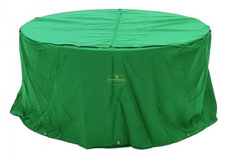 Tischhaube rund 130cm 100% Polyester in grün