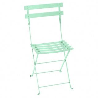 Fermob Stuhl Bistro Metall in opalgrün