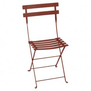Fermob Stuhl Bistro Metall in ockerrot
