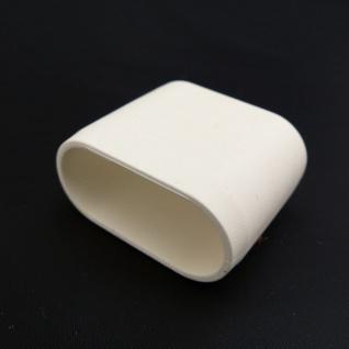 Fusskappe 35x15mm Ersatzkappe versch. Farben wählbar
