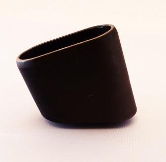 Fusskappe 40x20mm Ersatzkappe für Gartenmöbel in schwarz