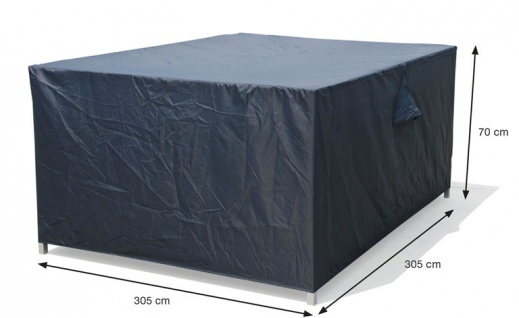 Schutzhülle Loungemöbel 305x305x70 cm 100% Polyester