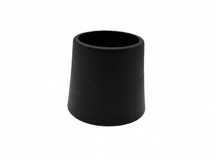 Fusskappe 20mm Royal Garden in schwarz