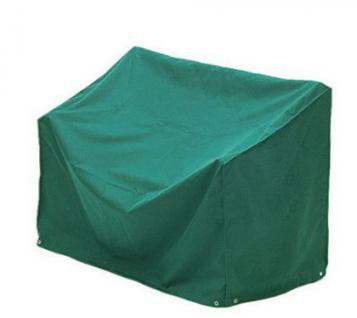 Abdeckhaube 2er Bank 100% Polyester in grün