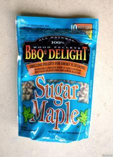 BBQ Sugar-Maple Pellets - Vorschau