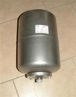 Ausdehnungsgefäß Edelstahl Varem 20l Zylinder (10731#
