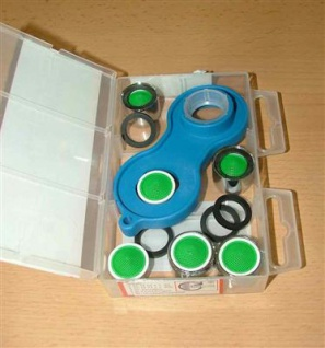 Service Box Mischdüsen mit Schlüssel (4547#