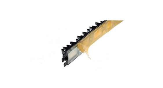 Klemmschiene Montageschiene selbstklebend 16 -22mm / 1m Länge kürzbar (10043#