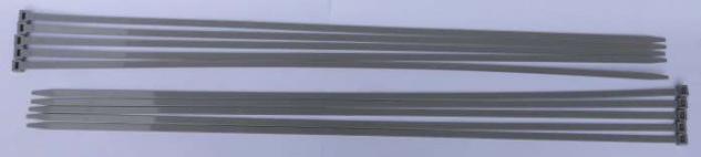 SIMPLEX Quick Schnellspannband für Schilderhalter (9x775 mm) 10Stk. (9662#