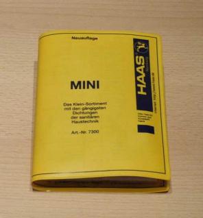 Dichtungen MINI-Dichtungs-Sortiment HAAS Art.7300 (6801#