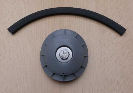 Rohranbaustopfen Farbe grau (8799#