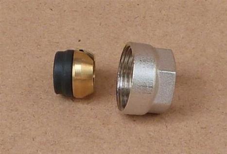 Klemmringverschraubung Eurokonus 10 mm weichdichtend / 1Stück (8291#
