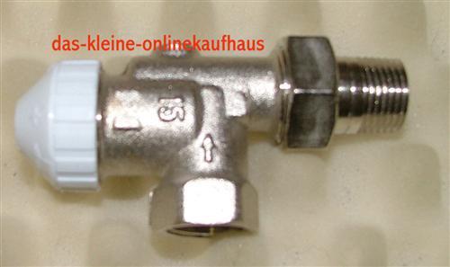 "Thermostatventil / Heimeier Kompatibel 1/2"" axial (1241#"