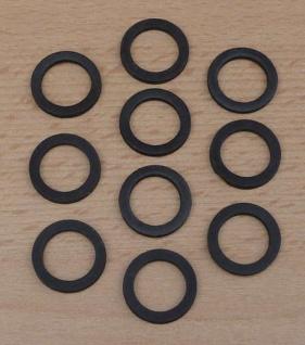 Gummi-Dichtung für Perlstrahlregler M 24 / 10 Stück (9577#