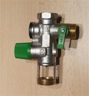 """Sicherheitsgruppe ORKLI 3/4"""" für Trinkwasser grüne Serie 22170 (6809#"""